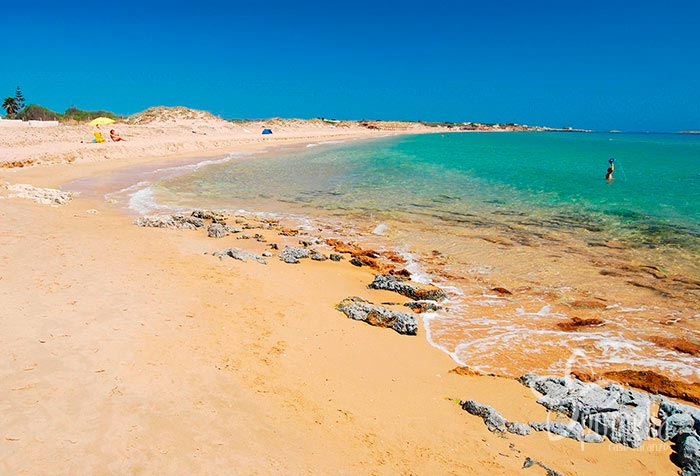 Plage Playa Carratois Sicile